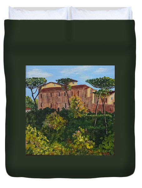 Monastero Duvet Cover