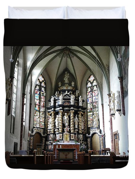 Monastery Church Oelinghausen, Germany Duvet Cover