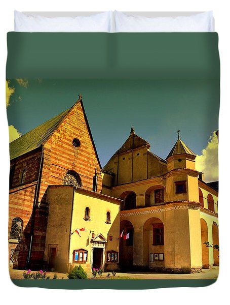 Monastery In The Wachock/poland Duvet Cover