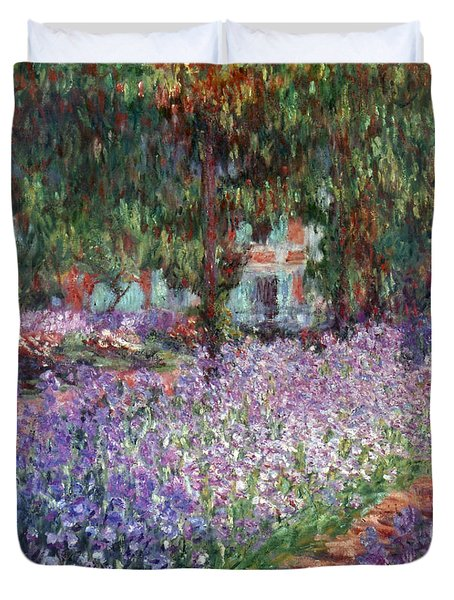 Monet: Giverny, 1900 Duvet Cover