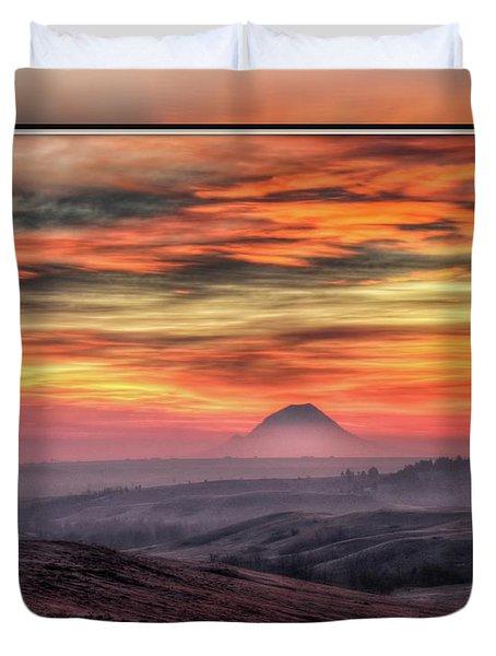 Monet Morning Duvet Cover
