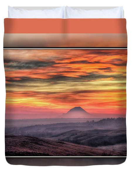 Monet Morning Duvet Cover