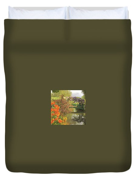 Monet Park Duvet Cover