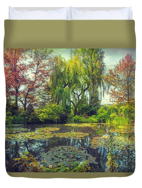 Monet's Afternoon Duvet Cover