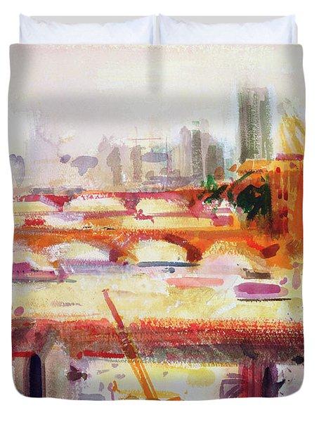 Monet's Muse Duvet Cover