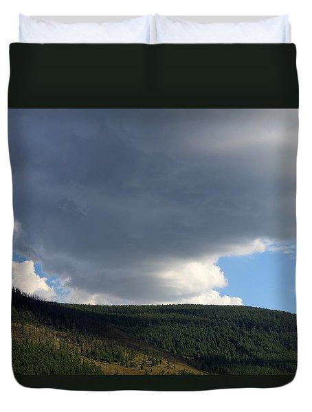 Mongolian Sky Duvet Cover