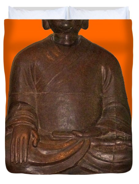 Monk Seated Duvet Cover
