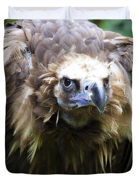 Monk Vulture 3 Duvet Cover