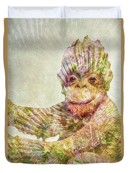 Monkey Man Duvet Cover