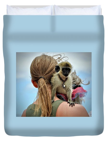 Monkeying Around Duvet Cover
