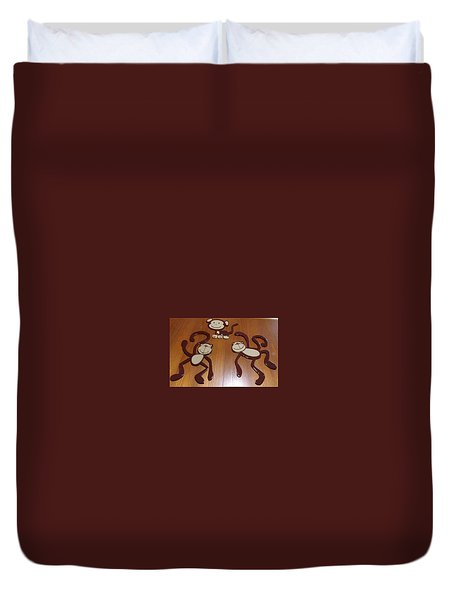 Monkeys Duvet Cover