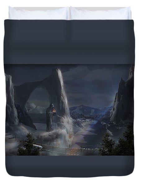 Monks Mountain Duvet Cover
