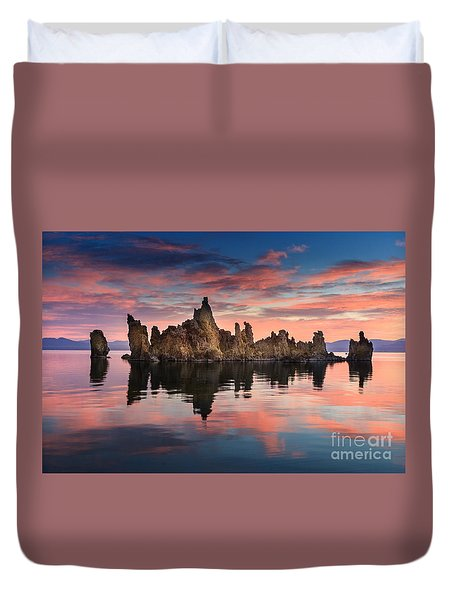 Mono Lake Duvet Cover