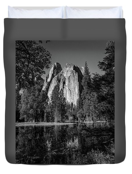 Monolith Duvet Cover by Ryan Weddle