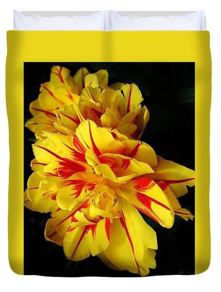 Monsella Tulip Duvet Cover by Bruce Bley