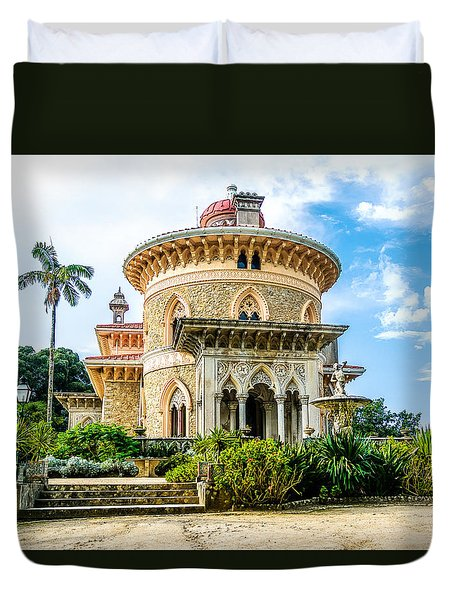 Monserrate Palace Duvet Cover by Marion McCristall