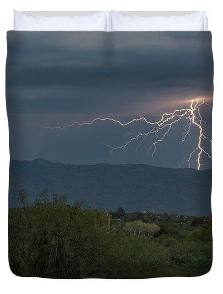 Monsoon Lightning Duvet Cover