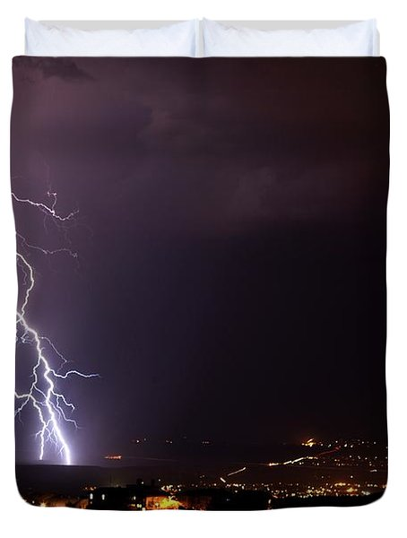 Monsoon Storm Duvet Cover