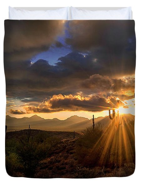 Monsoon Sunburst Duvet Cover