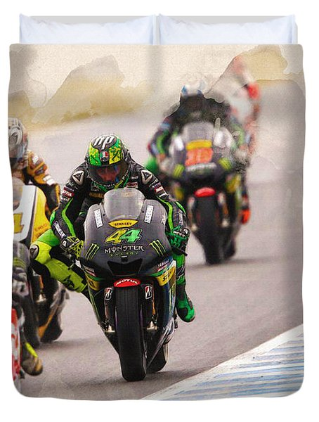Monster Yamaha Tech 3, Duvet Cover