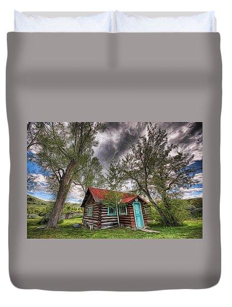 Montana Cabin Duvet Cover