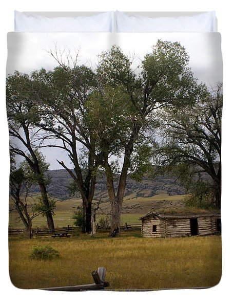 Montana Homestead Duvet Cover by Marty Koch