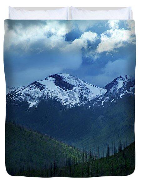 Montana Mountain Vista #2 Duvet Cover