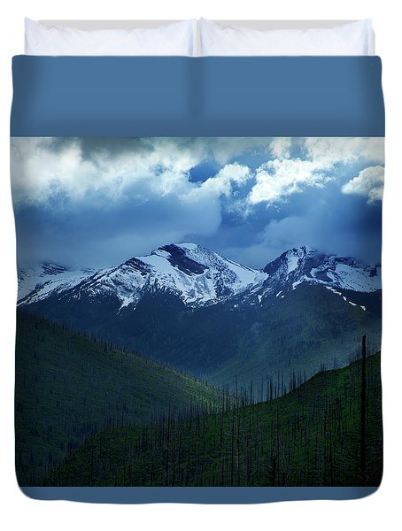 Montana Mountain Vista #2 Duvet Cover