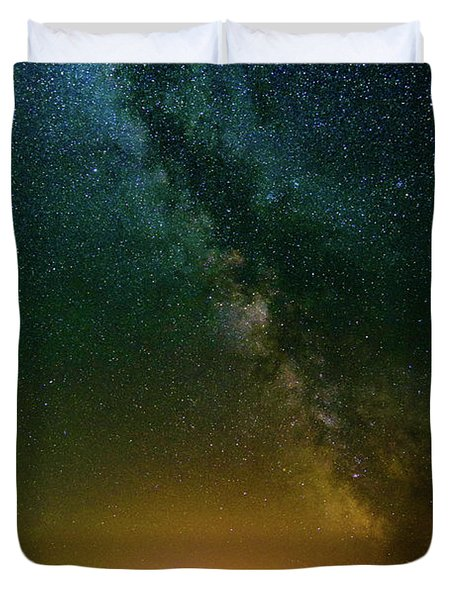 Montana Night Duvet Cover