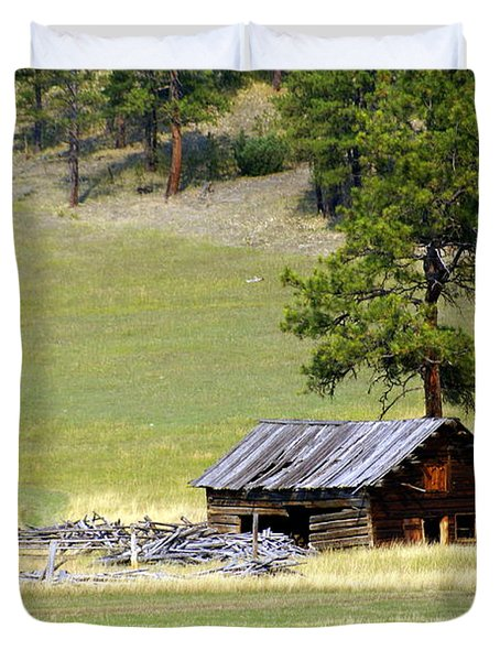Montana Ranch 3 Duvet Cover by Marty Koch