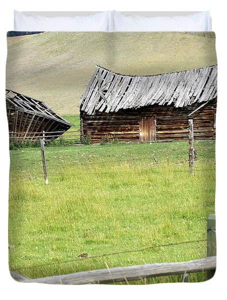 Montana Ranch Duvet Cover by Marty Koch