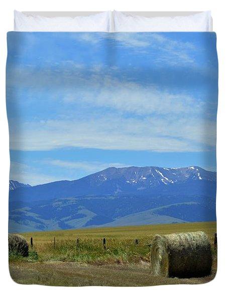 Montana Scene Duvet Cover