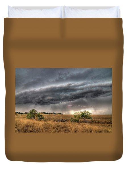 Montana Storm Duvet Cover