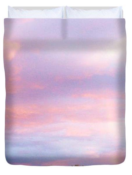 Montana Sunset 1 Duvet Cover
