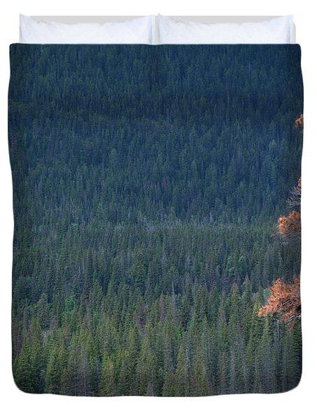 Montana Tree Line Duvet Cover