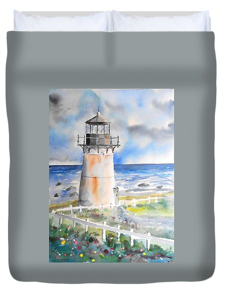 Montara Lighthouse Duvet Cover