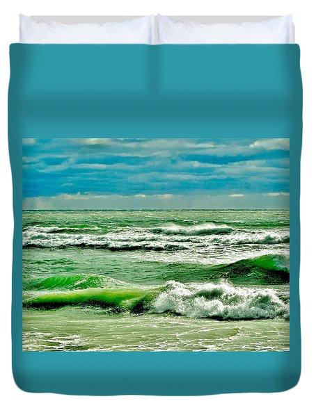 Montauk Duvet Cover by John Wartman