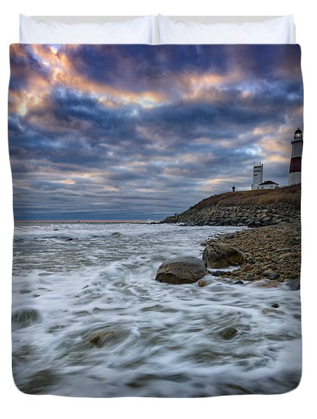 Montauk Morning Duvet Cover