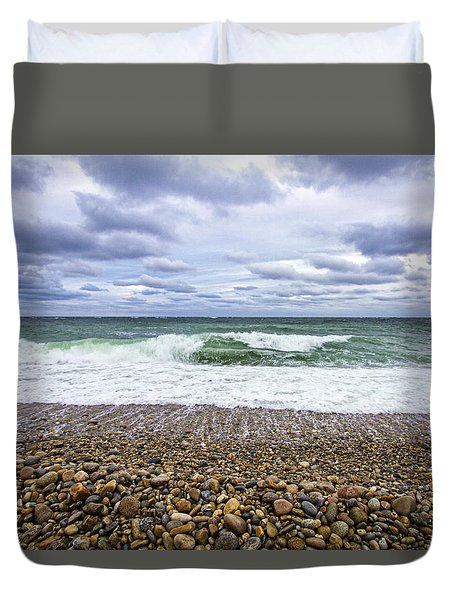 Montauk Shore Break Duvet Cover