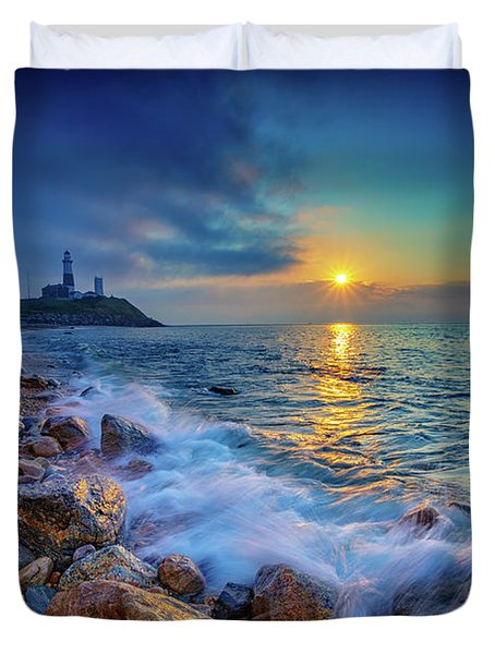 Montauk Sunrise Duvet Cover
