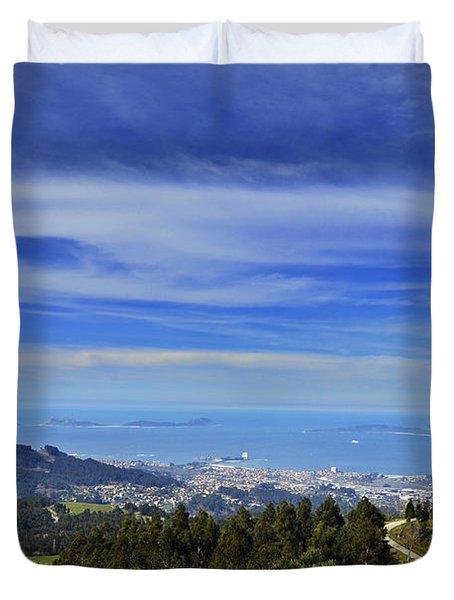 Monte Alba Vigo Duvet Cover
