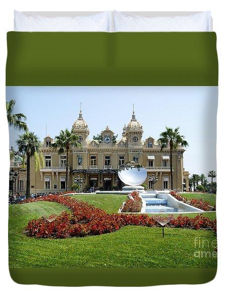 Monte Carlo Casino Duvet Cover