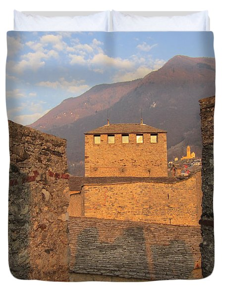 Montebello - Bellinzona, Switzerland Duvet Cover
