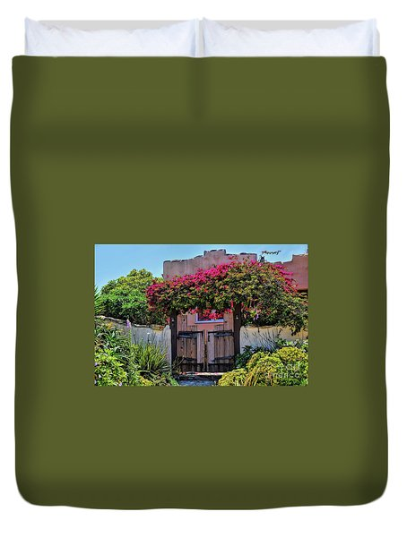 Monterey Charm Duvet Cover by Gina Savage