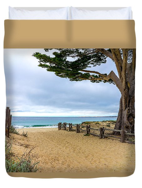 Monterey Day Duvet Cover by Derek Dean