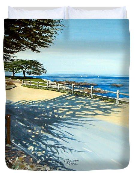 Monterey Shadows Duvet Cover