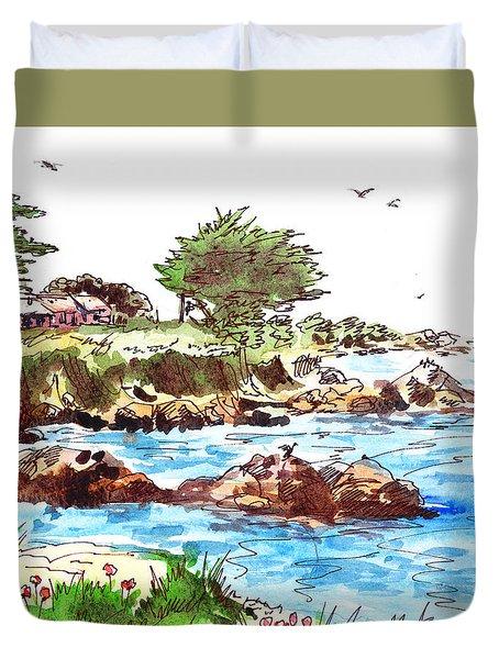 Monterey Shore Duvet Cover