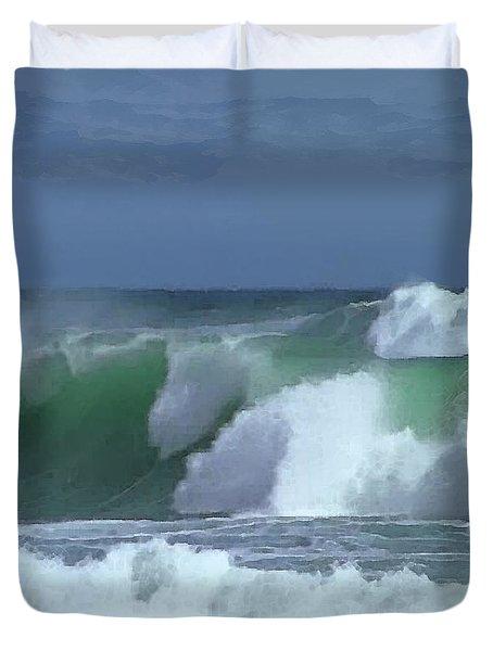 Monterey Surf Duvet Cover