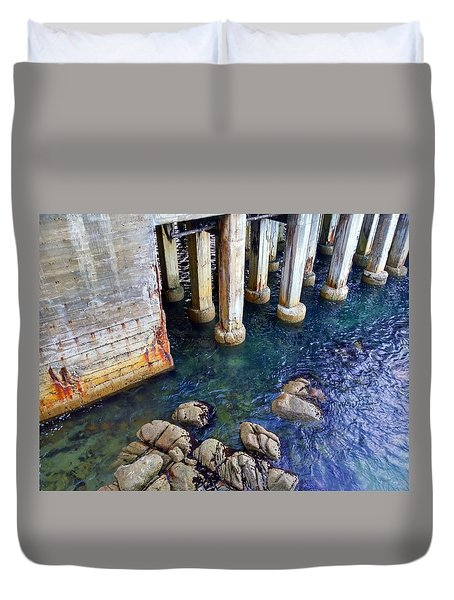 Montery Bay Duvet Cover