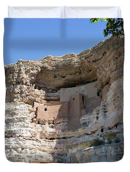 Montezuma Castle National Monument Arizona Duvet Cover